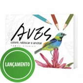 Aves: Colorir, Rabiscar e Anotar